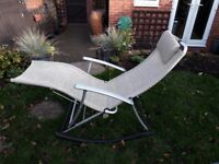 Reclining garden chairs for sale