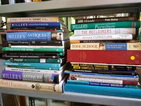 Job lot furniture & woodworking books