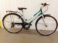 18 speed hybrid bike Alloy Frame excellent used Condition