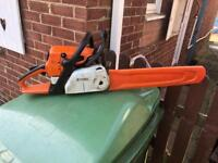 Stihl MS250c Chainsaw with new chain 2005 model 18 inch bar in great working order £200 Bicester