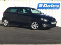 Volkswagen Polo 1.4 Match Edition 5dr (black) 2014
