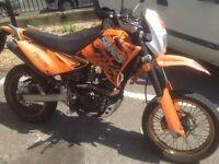 4st 125cc, work bike