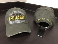 Dsquared2 Cap Khaki Green with tags