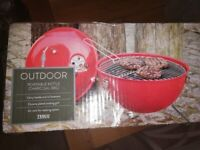 Portable kettle charcoal BBQ. Brand new, box never opened.
