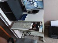 PC/Printer Desk - Excellent condition.