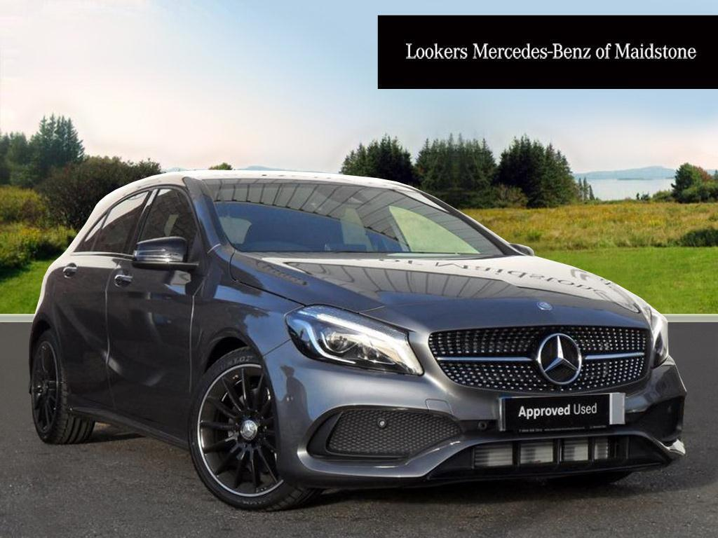 mercedes benz a class a 220 d 4matic amg line premium grey 2016 10 24 in maidstone kent. Black Bedroom Furniture Sets. Home Design Ideas