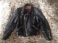Vintage Wolf Leathers Biker Jacket - Great condition!