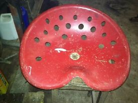 Vintage Tractor Seat- Been dry stored for years.