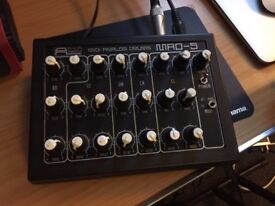 Analog Drum machine like new for sell , AVP Synthesizers | MAD-5