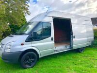 """2014"" FORD TRANSIT 2.2TD TREND T350EL JUMBO / FULL FORD HISTORY / AIRCON"