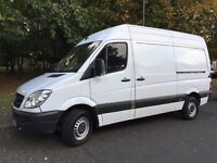 2013 MERCEDES SPRINTER 313 MWB. BRILLIANT DRIVE. FULL HISTORY. RECENTLY SERVICED. E/W. 6 SPEED.
