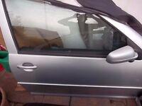 VW GOLF GTI DRIVERS DOOR 3DR