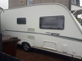 Caravan abbey 215 GTS 2007 top of range with motormover and all accessories.