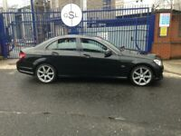 2010 59reg Mercedes Benz C250 2.2 Cdi Automatic Black