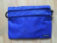 Blue Travel Wire Storage Bag