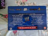 WWF WWE 2005 Complete Event PPV DVD Collection Boxset || Very Rare