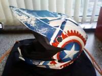 Origine motocross helmet