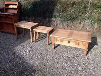 3 Pine Coffee Tables
