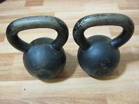 2 x 12kg Kettlebells, Kettle Bells, Kettle Weights, Bradford City Centre