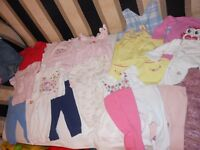 Bundle of baby girl clothes 3-6months (GAP, mothercare, M&S,C&A, etc.)