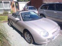 MG MGF 1.8 2000 | 2 seater convertible