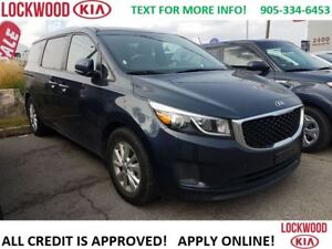 2017 Kia Sedona LX *REARVIEW CAM, ANDROID, HEATED SEATS