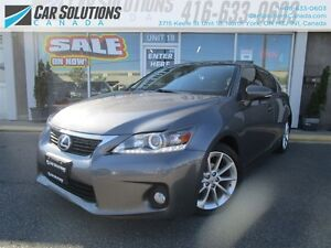 2012 Lexus CT 200h CAMERA-SN ROOF-LEATHER