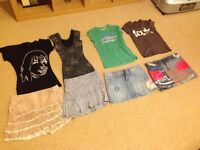 Various size 8 clothing