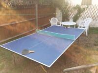 Table Tennis Table (with bats & balls)