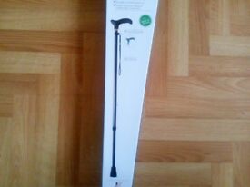 BRAND NEW IN BOX HIGH QUALITY HEIGHT ADJUSTABLE WALKING STICK