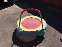 Kids mini trampoline.