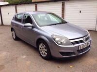 2004 VAUXHALL ASTRA 1.6i CLUB TWINSPORT MANUAL PETROL, 49k