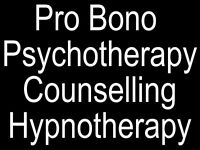 Central London - Pro Bono - Counselling - Psychotherapy - Hypnotherapy Mindfulness Supervision