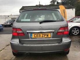 2011 (11 reg) Mercedes-Benz B Class 2.0 B180 CDI SE 5dr Hatchback Turbo Diesel 6 Speed Manual