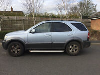 2004 KIA SORENTO 2.5 CRDI XE 5DR ONLY DONE 104K WITH HISTORY