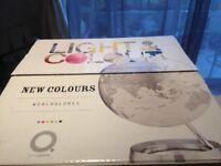 Light and Colour Designer World Globe Lamp