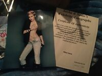 Miles Cyrus signed autographs with coa
