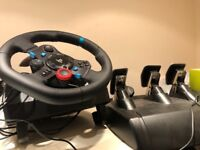 Logitech g29 + shifter and pedals