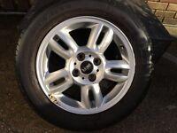 """15"""" BMW Mini alloys and tyres"""