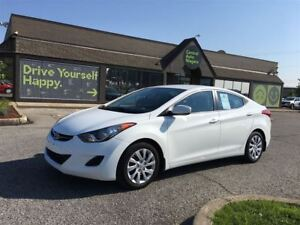 2013 Hyundai Elantra GL/CLOTH/HEATED SEATS/BLUETOOTH/OFF LEASE