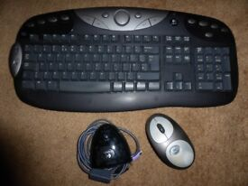 LOGITECH Cordless Desktop® MX ™ Wireless keyboard and mouse set