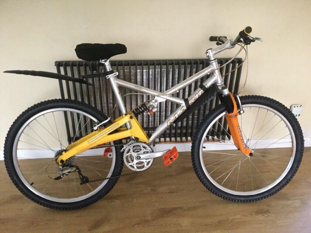 Fully Full California ServicedIn Suspension Aluminium Marin LewishamLondon Bike Gumtree qMzpSVLUG