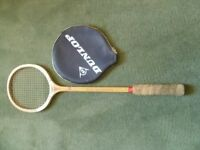 Dunlop Squash Racket with cover