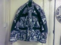 Motorbike Camo jacket XL