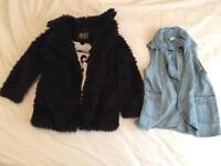 girls coat and jacket 18-24months clothing £5 each