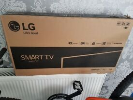 "New Sealed Box LG 28"" Smart TV, High Definition, Freeview Enabled LED Backlit WIFI Smart TV Web OS"