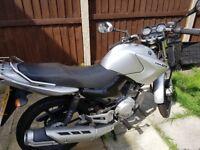 Yamaha YBR 125 Motorbike - MOT til June 2019 - Learner Legal