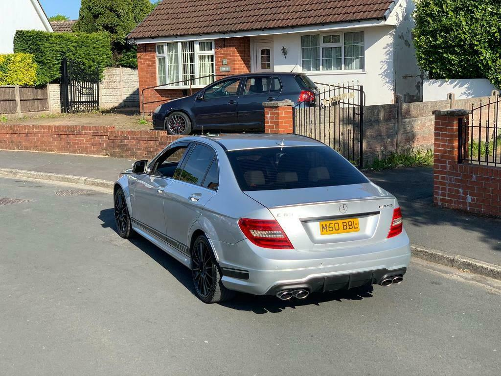 MERCEDES C63 AMG 7G-TRONIC **FACELIFT + HPI CLEAR + 500 BHP + 507 DECAL**  Px swap | in Colne, Lancashire | Gumtree
