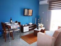 Holiday self-catering Studio apartment in Long Beach, North Cyprus, close to Sea/sandy Beach