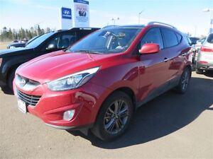 2014 Hyundai Tucson GLS, Sunroof! Leather! Back-Up!
